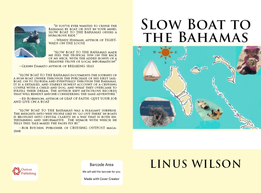 Create Space SLOW BOAT TO BAHAMAS cover