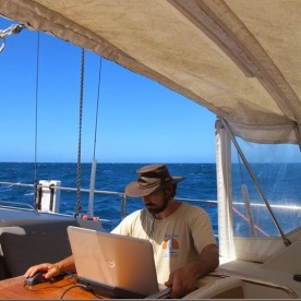 Editing at sea