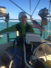 Janna at the helm to Staniel