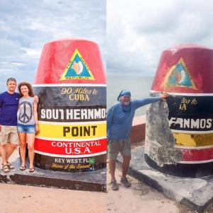 Southernmost Before and After